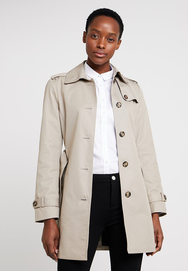 HERITAGE SINGLE BREASTED - Trench - medium taupe