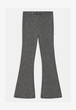 TEENS LOVISA FLARE UNISEX - Trousers - grey/black melange