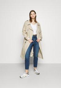 Even&Odd - Straight leg jeans - blue denim - 1