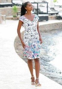 Alba Moda - Shift dress - weiss-bunt - 3