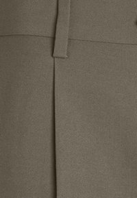 Weekday - CONRAD WIDE TROUSERS - Trousers - brown/green - 2
