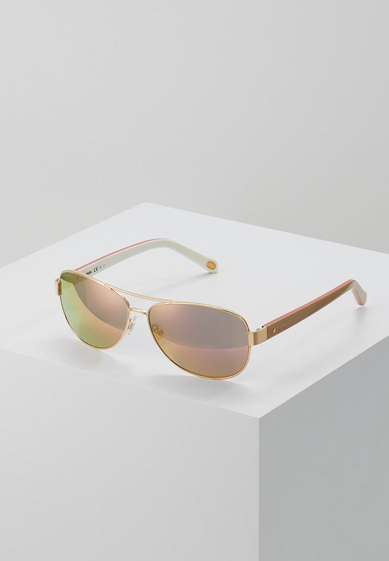 Fossil - Sunglasses - burgundy