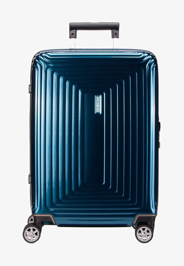 NEOPULSE (55cm) - Wheeled suitcase - metallic blue