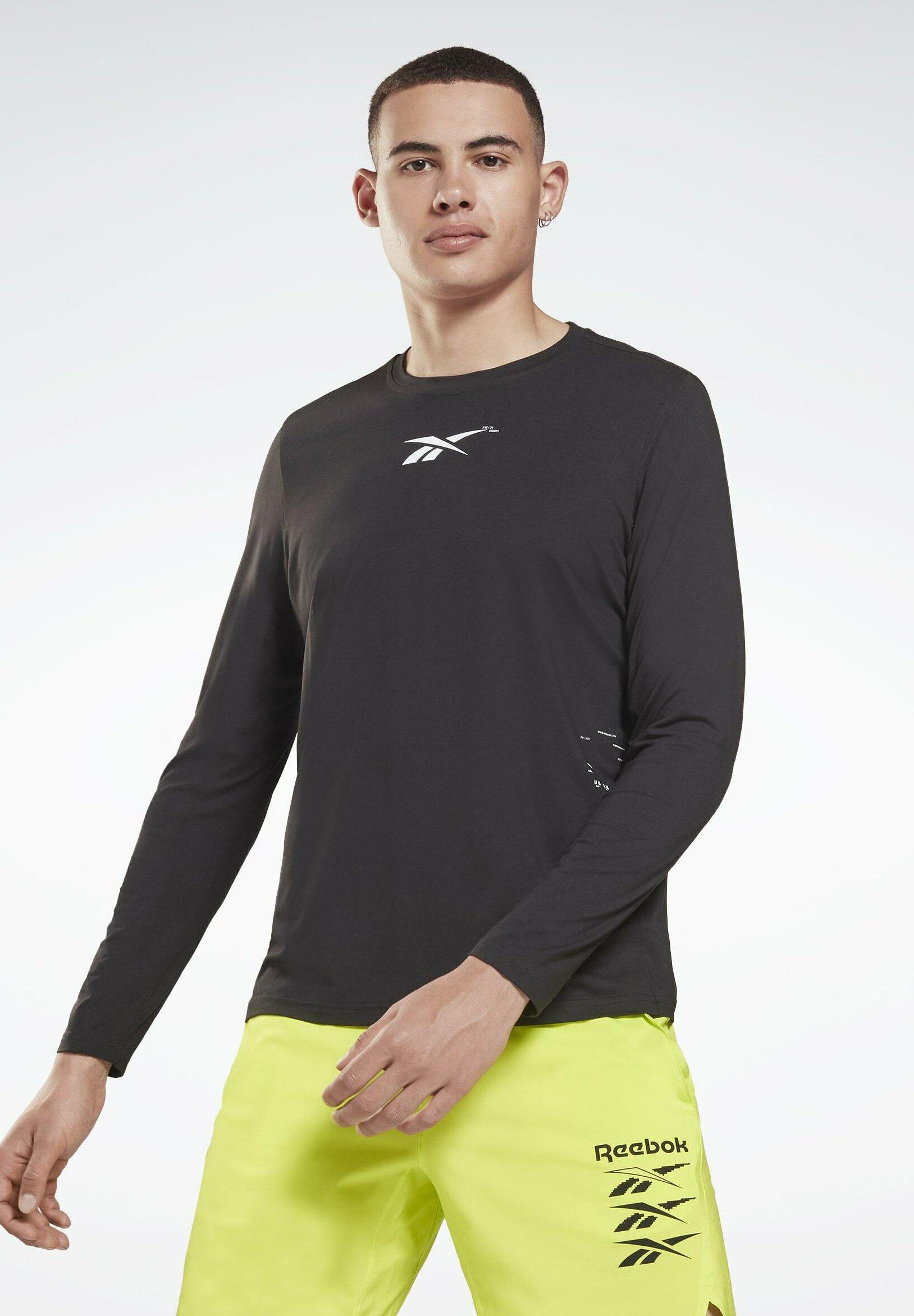 Uomo TRAINING WORKOUT DREAMBLEND ACTIVCHILL+COTTON LONG SLEEVE - Maglietta a manica lunga