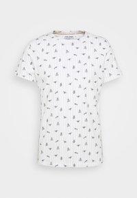 Blend - TEE  - T-shirt med print - snow white - 5