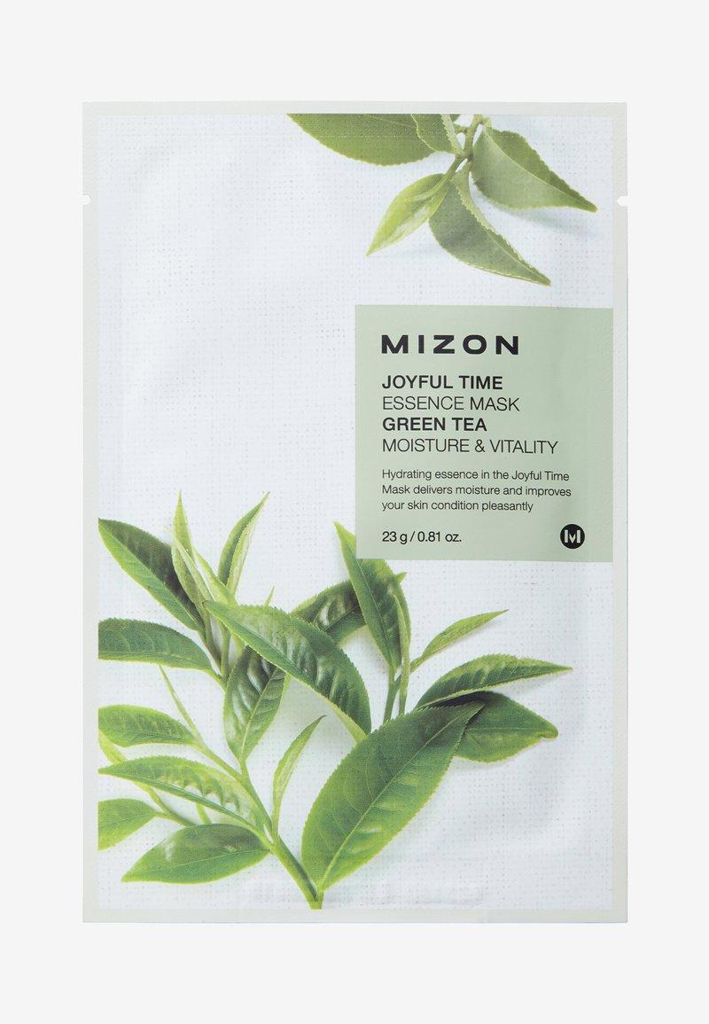 Mizon - JOYFUL TIME ESSENCE GREEN TEA 4 MASKS PACK - Skincare set - -