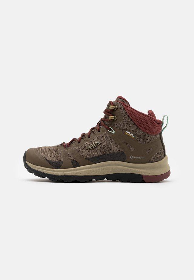 TERRADORA II MID WP - Hiking shoes - canteen/andorra