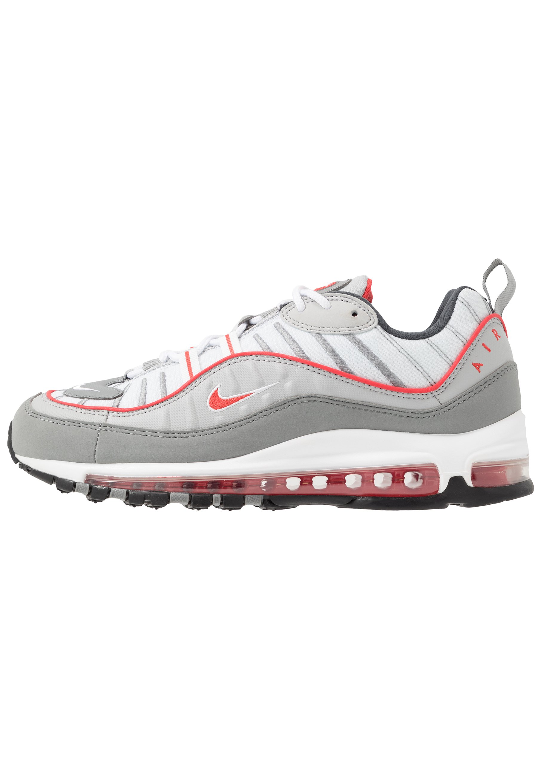 AIR MAX 98 - Baskets basses - particle grey/track red/iron grey/grey  fog/white