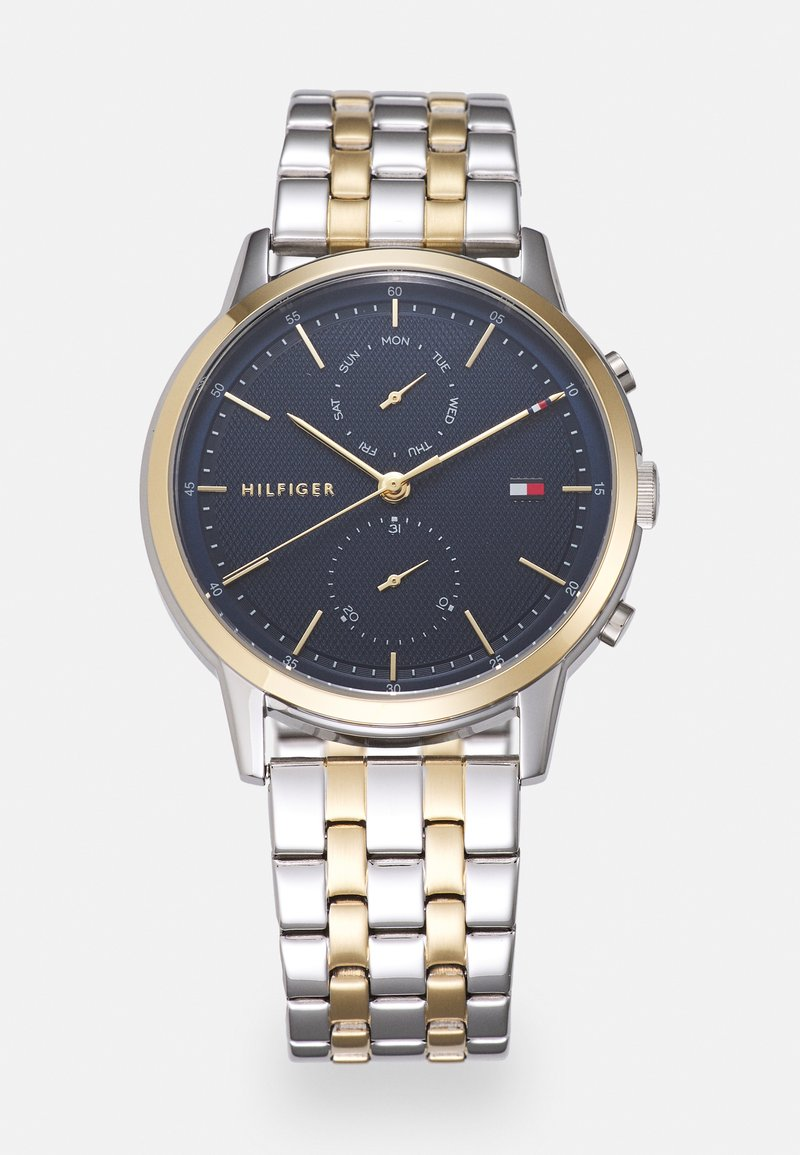 Tommy Hilfiger - EASTON - Watch - silver-coloured/gold-coloured