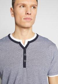 Esprit - Print T-shirt - navy - 3