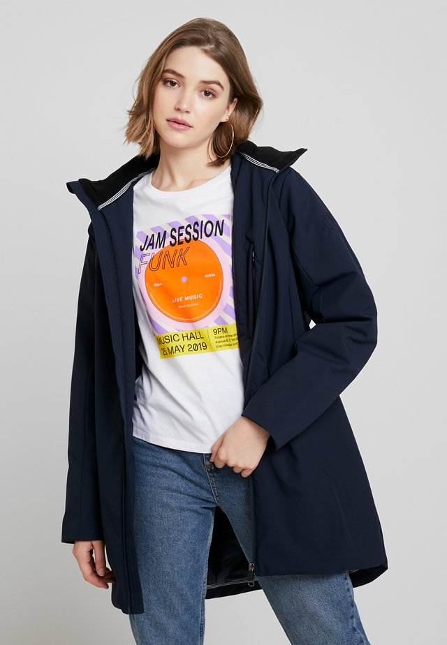 CARRIE - Classic coat - dark navy