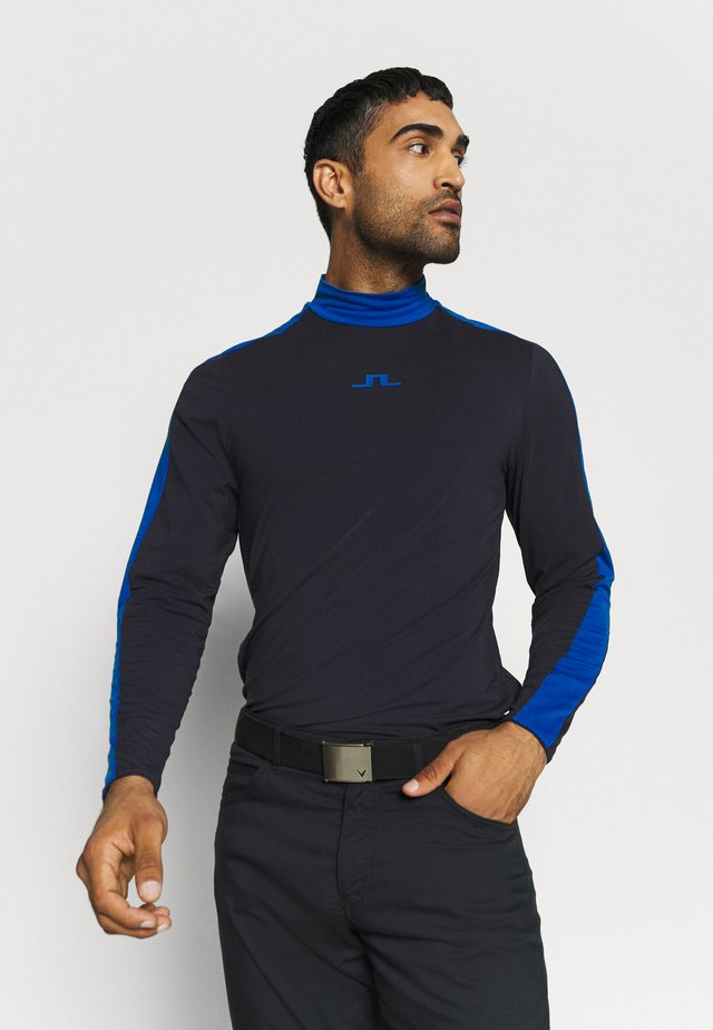 SASHA CREW NECK LIGHT MID - Sports shirt - navy