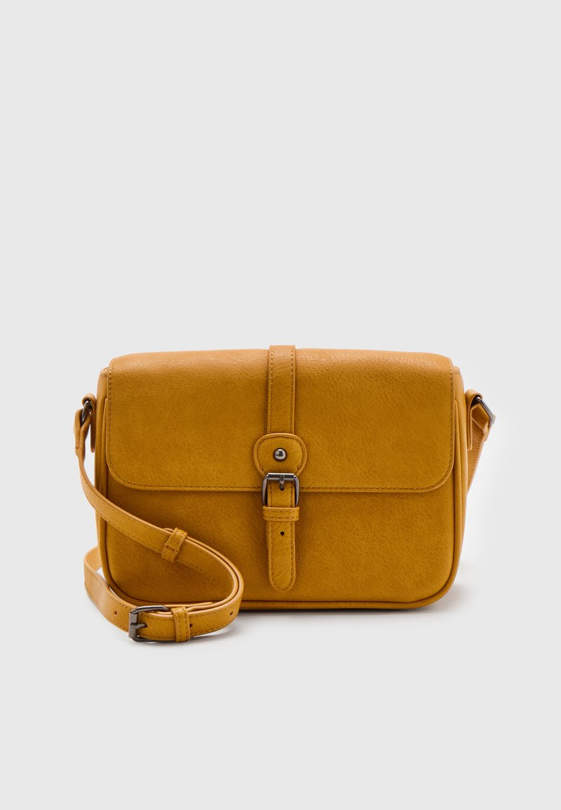 Anna Field - Across body bag - mustard yellow