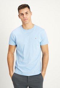 GANT - ORIGINAL - T-shirt - bas - capri blue - 0