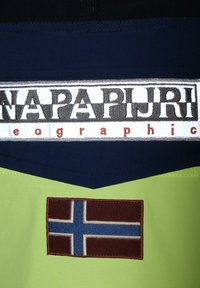 Napapijri - RAINFOREST SUMMER BLOCK - Windbreaker - sunny yellow - 4
