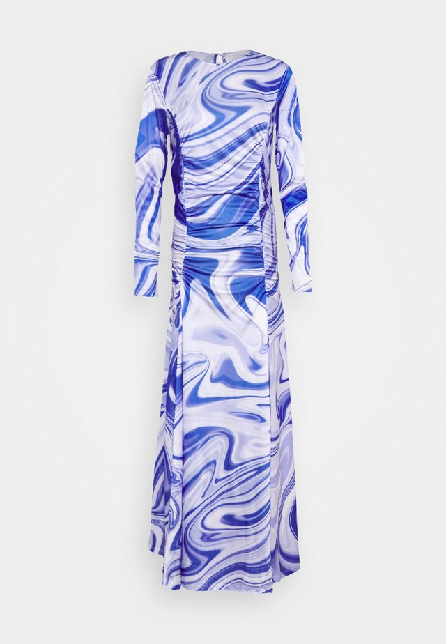 ASTA DRESS - Vestito lungo - purple liquid