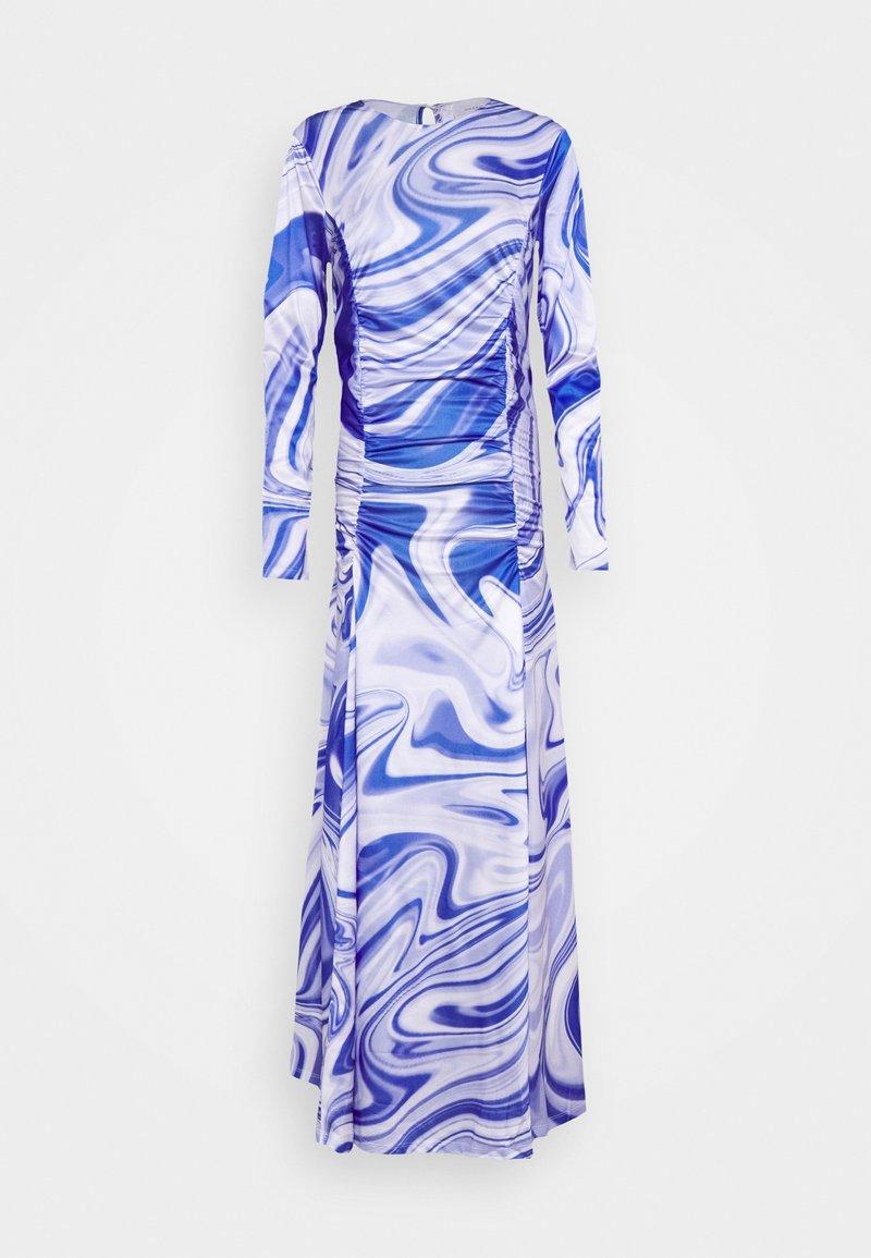 HOSBJERG - ASTA DRESS - Długa sukienka - purple liquid