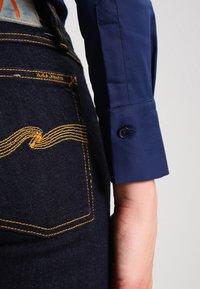 Mos Mosh - TILDA - Button-down blouse - navy - 4