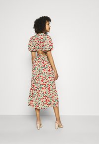 Missguided - OPEN BACK DRESS - Day dress - sage - 2