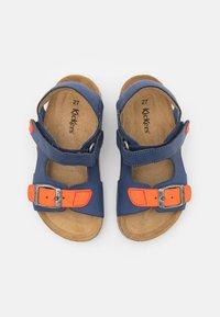 Kickers - FUXIO - Sandals - marine/orange - 3