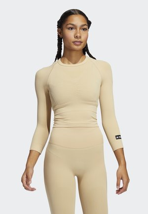 FORMOTION PRIMEGREEN WORKOUT COMPRESSION - Sports shirt - hazbei