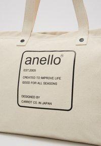 anello - AUBREY TOTE BAG  - Tote bag - natural - 2