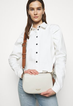 MEDIUM CROSSBODY - Across body bag - parchment