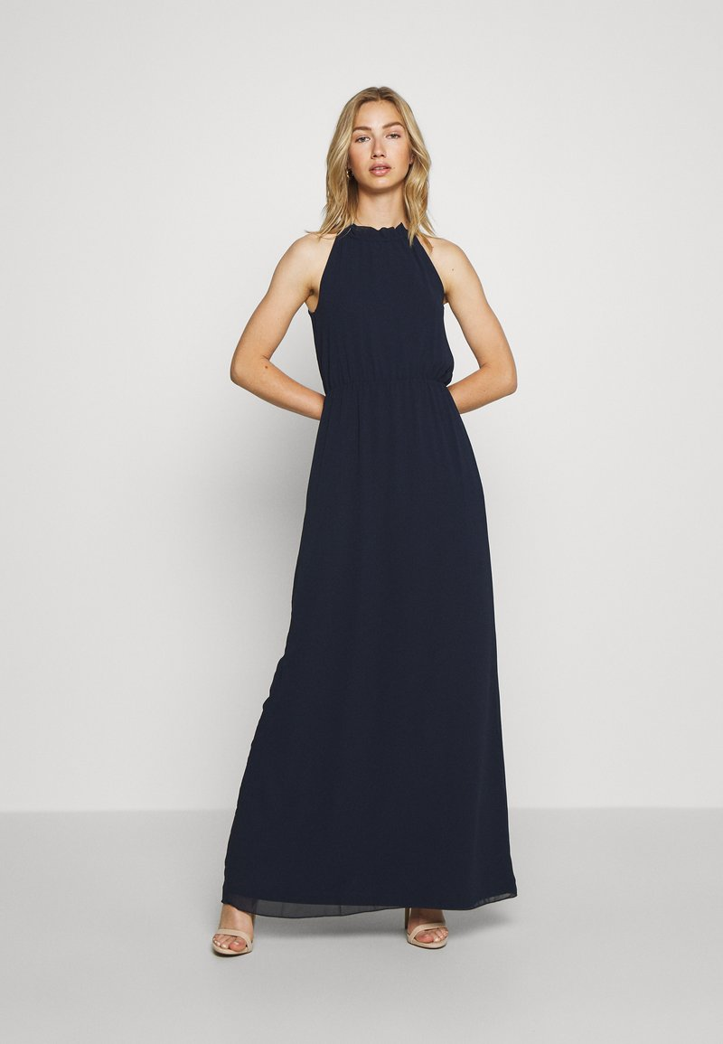 Nly by Nelly - PRETTY FLOUNCE GOWN - Occasion wear - navy