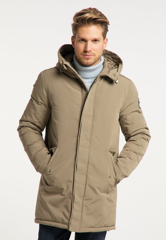 Winter coat - grau olive