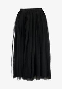 Lace & Beads Petite - VAL SKIRT - Jupe longue - black - 4