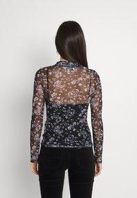 Lee - PRINTED TEE - Long sleeved top - black - 2