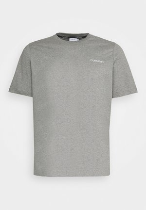 CHEST LOGO - Basic T-shirt - grey