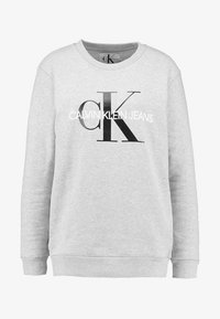 Calvin Klein Jeans - CORE MONOGRAM LOGO - Mikina - light grey heather - 3
