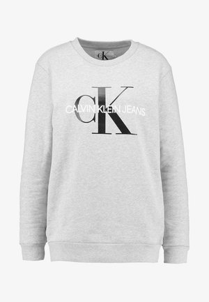 CORE MONOGRAM LOGO - Sweatshirt - light grey heather