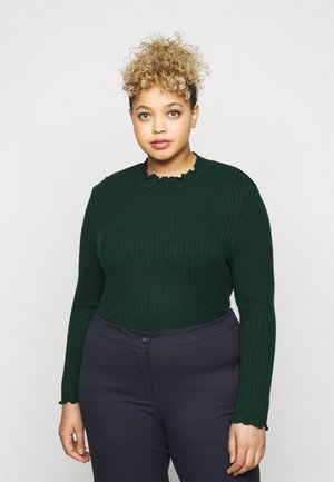 NMBERRY HIGH NECK - Long sleeved top - ponderosa pine