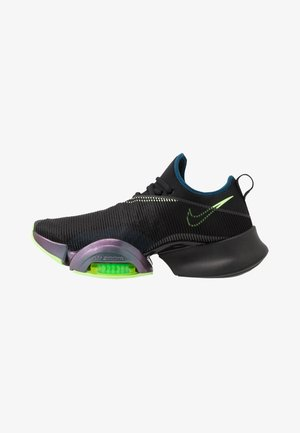 AIR ZOOM SUPERREP UNISEX - Sports shoes - valerian blue/lime blast/black/volt