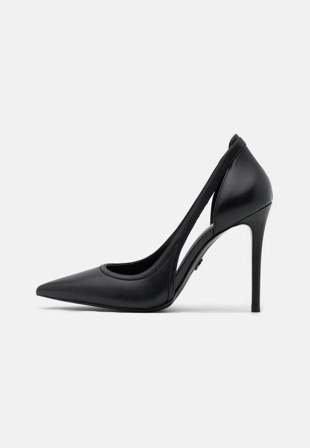 NORA - Zapatos altos - black