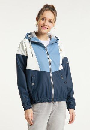 Waterproof jacket - denimblau marine