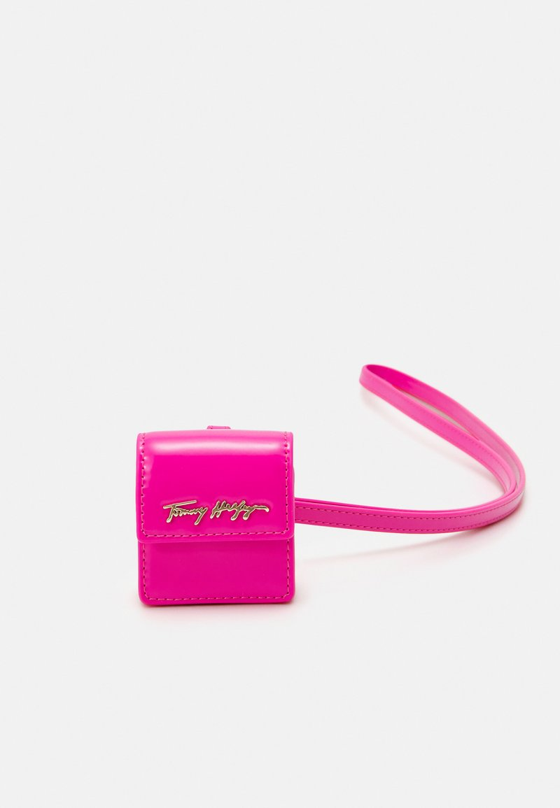 Tommy Hilfiger - ICONIC EARPHONE CASE - Other accessories - pink