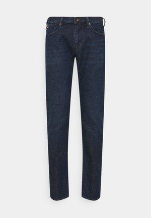 POCKETS PANT - Jean slim - dark-blue denim