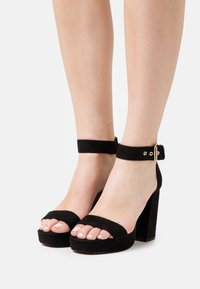 ONLY SHOES - ONLAERIN - High heeled sandals - black - 0