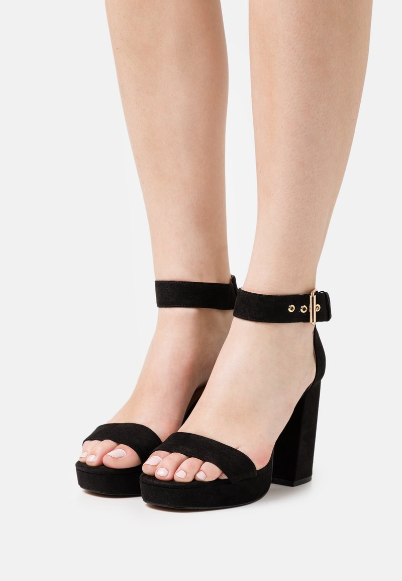 ONLY SHOES - ONLAERIN - High heeled sandals - black