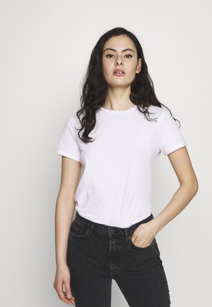 VEGIFLOWER - Basic T-shirt - blanc