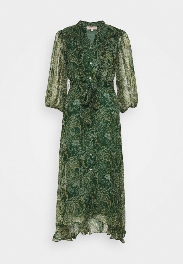 ECHELLE ROBE - Korte jurk - green