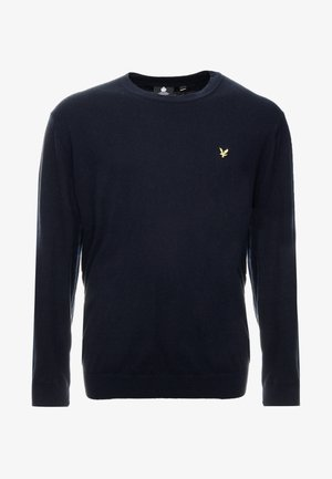 PLUS CREW NECK JUMPER - Trui - dark navy