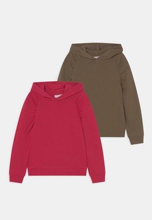 NKFVENUS 2 PACK - Sweatshirt - persian red