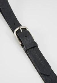 Pier One - LEATHER - Cinturón - black - 4