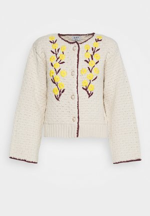 ROSE - Strickjacke - ivory