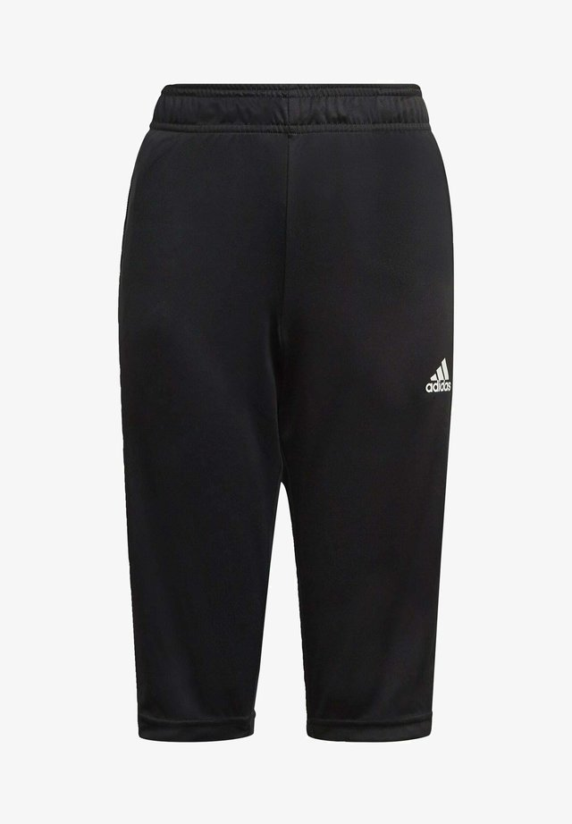 TIRO 21 3/4 PANTS - Pantalon 3/4 de sport - black