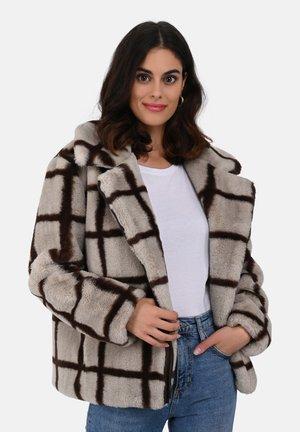 MEDIA - Winter coat - beige/brown